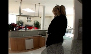 Hot blond housewife vicky vette forces her husband to see